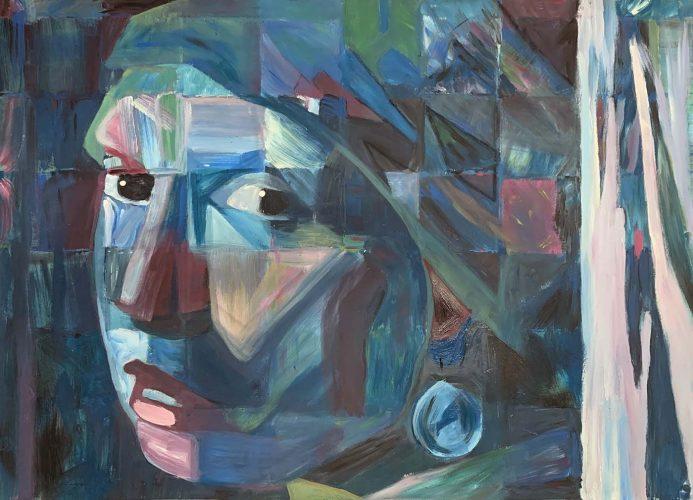 Das Mädchen mit dem Perlenohrgehänge - Jan Vermeers - Cover Version